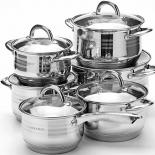 набор посуды для готовки MAYER & BOCH MB 25155 (12 предметов)