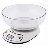 весы кухонные IRIT-7119 белые