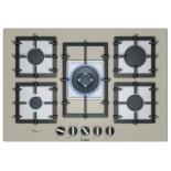 Варочная поверхность Bosch PPQ7A8B90R, газовая