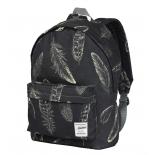 рюкзак городской Nosimoe 8302-10V  перо-графит