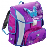 рюкзак детский Step By Step BaggyMax Simy Butterfly Бабочки рисунок/фиолетовый