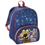 рюкзак детский Hama MONSTERS (138028) синий/красный
