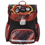 рюкзак детский Hama MOTORBIKE красный/черный