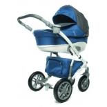 коляска Lepre Formula 12 (42095 )Ткань+Ткань Синяя с Серым