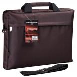 сумка для ноутбука Exegate Start S15 коричневая
