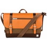 сумка для ноутбука Moshi Carta коричневая