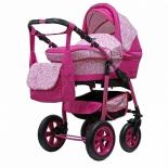 коляска Teddy Giovani (2 в 1) 02, розовая