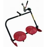 аксессуар к садовой технике косилка КаДви Заря КР.05.000-03, роторная навесная (для мотоблоков Ока)