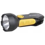 фонарь ручной Ultraflash LED3817 черный/желтый