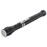 фонарь ручной PATRIOT LR 007, блистерб, защита от удара, защита от воды, черный
