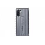 чехол для смартфона Samsung для Samsung Note 10 (клип-кейс) серебристый