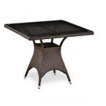 стол садовый Afina T220BT-W51-90x90 Brown