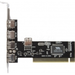 контроллер (плата расширения для ПК) VIA6212 (USB2.0a, 4e1i) bulk