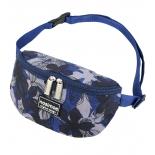 сумка NOSIMOE 092-12D пояс  (цветы-син-сер)