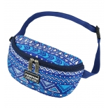 сумка NOSIMOE 092-12D пояс (орнамент-синий )