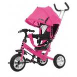 Трехколесный велосипед Moby Kids Start 10x8 EVA, розовый
