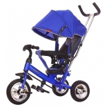 Трехколесный велосипед Moby Kids Start 10x8 EVA, (641045) синий