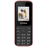 сотовый телефон IRBIS SF31 черный/красный