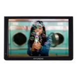 портативный телевизор Hyundai H-LCD1200  черный