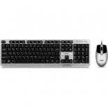 комплект Клавиатура+мышь SVEN KB-S330C серебро