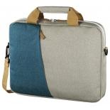 сумка для ноутбука Hama Florence серый/голубой