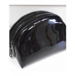 косметичка NOSIMOE 1380-01К ракушка (лак, черный)