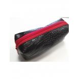 косметичка NOSIMOE 1381-01К пенал (крокодил-черный)