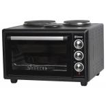 Мини-печь, ростер ВАСИЛИСА ВС-2К39 черная, купить за 4 805руб.