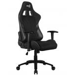 игровое компьютерное кресло Aerocool AERO 1 Alpha Black, чёрное