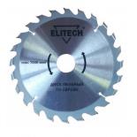 диск пильный ELITECH 1820.054300  для дерева