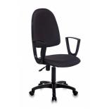 компьютерное кресло Бюрократ CH-1300N/BLACK  Престиж, черный