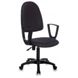 компьютерное кресло Бюрократ CH-1300N/OR-16 Престиж+ искусственная кожа, черный