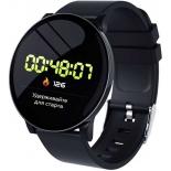 Умные часы SmartLife UNO (SM-SLUNOB), черные