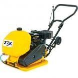 строительное оборудование ZITREK z3k60w 091-0202 Виброплита (Loncin 160F; бак для воды)