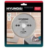 диск отрезной Hyundai 206107  125x22,2 mm сплошной  (10/100)