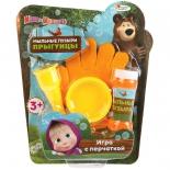 игрушка Играем вместе BB4415-D1-MB Маша и медведь. Набор д/пускания мыл. Пузырей.