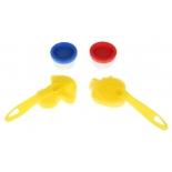 пальчиковые краски MultiArt CM2685-MM , Маша и медведь