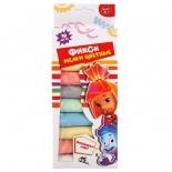 игрушка MultiArt 40110-FIX мелки цветные, фиксики
