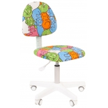 компьютерное кресло Chairman Kids 104 ткань котики