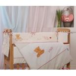 Комплект постельного белья Маленькая Соня My mammy, поплин, 6 пр, красный, купить за 4 110руб.