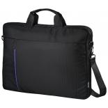 Сумка для ноутбука Hama Cape Town (00101907) черная/синяя, купить за 1 270руб.