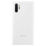 Чехол для смартфона Samsung для Samsung Note 10+ Silicone Cover белый, купить за 1 330руб.