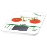 кухонные весы Vivitek VT-2413, белый с рисунком