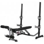 Скамья BodyCraft F609, силовая со стойками, купить за 38 695руб.