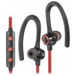 Bluetooth-гарнитура Defender OutFit B720 черный/красный