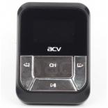 FM-модулятор ACV FMT-112 (18069), автомобильный, MicroSD, чёрный