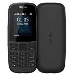 сотовый телефон Nokia 105 New DS, черный