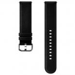 ремешок для умных часов Samsung Galaxy Watch Leather Band ET-SLR82MBEGRU для Samsung Galaxy Watch Active/Active2 черный