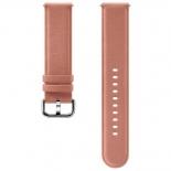 ремешок для умных часов Samsung Galaxy Watch Leather Band ET-SLR82MPEGRU для Samsung Galaxy Watch Active/Active2 розовый