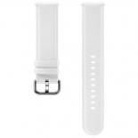 ремешок для умных часов Samsung Galaxy Watch Leather Band ET-SLR82MWEGRU для Samsung Galaxy Watch Active/Active2 белый